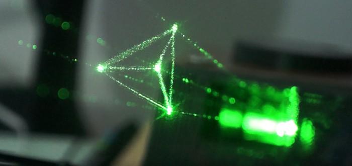 Реальный голографический дисплей собрал необходимую сумму на Kickstarter