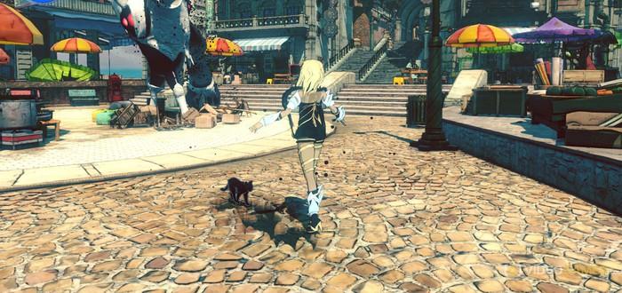 Новые скриншоты Gravity Rush 2