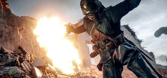 Режиссеры кинематографии Battlefield 1 снимают фильм про женщину-ассасина