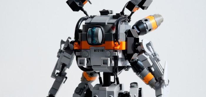 Милейшие версии Титанов Titanfall 2 из Lego