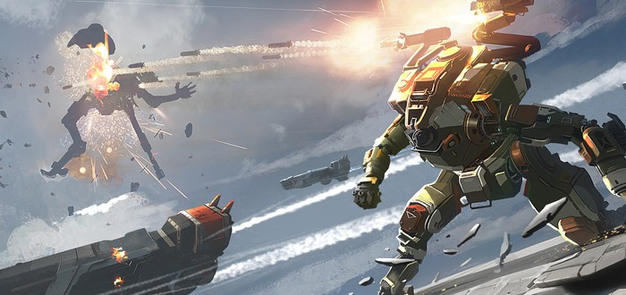 Титаны, пилоты и окружение на концепт-артах Titanfall 2