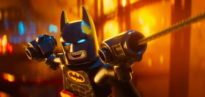 Забавный новый трейлер The LEGO Batman Movie