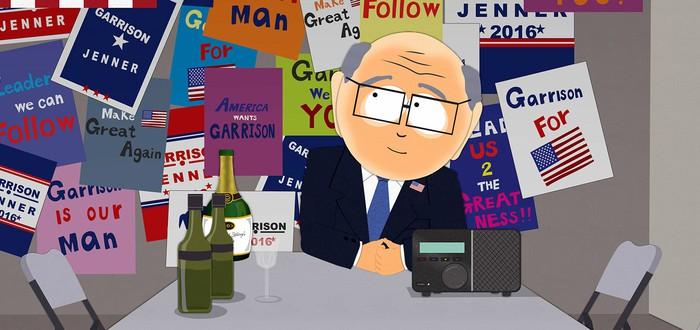 Серию South Park переписали из-за победы Трампа