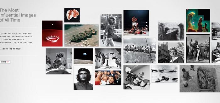 100 значимых фото по версии журнала TIME