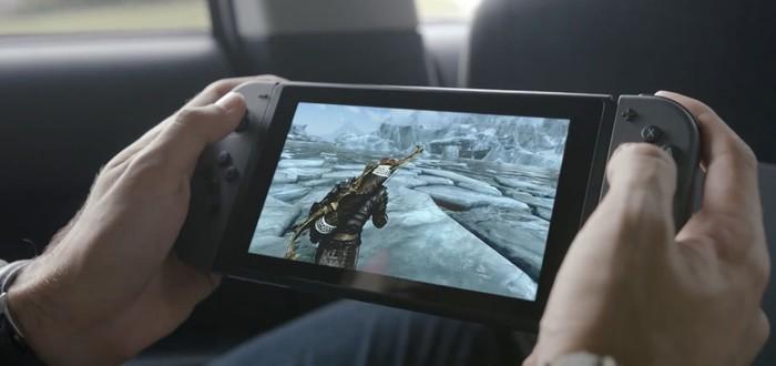 Слух: Skyrim и Mario в стартовой линейке игр Nintendo Switch
