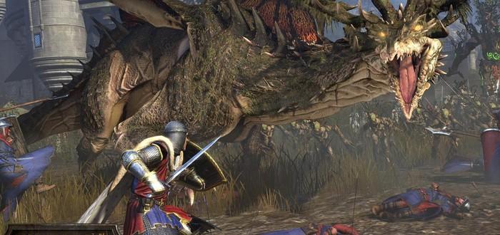 Геймплей эльфийского дополнения для Total War: Warhammer