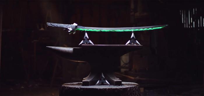Man at Arms воссоздали меч Гэндзи