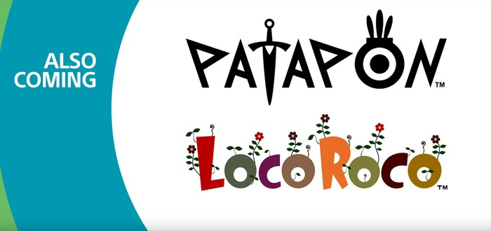 PSX: Анонс ремастеров PaRappa, Patapon и LocoRoco