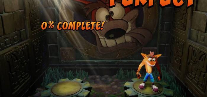 5 минут геймплея Crash Bandicoot Remastered