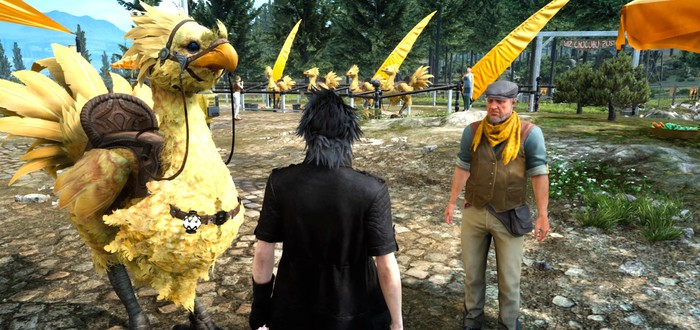 Детали будущих обновлений Final Fantasy XV