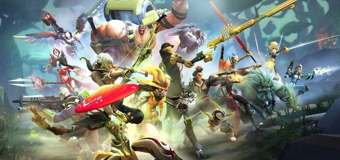 Обновление Battleborn сделает игру привлекательней для новых игроков