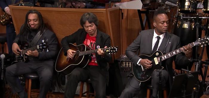 Сигэру Миямото и The Roots исполнили тему Super Mario Bros.