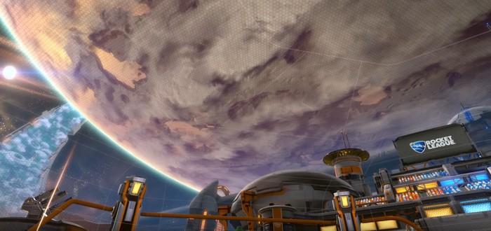 Видео обновления Starbase Arc для Rocket League