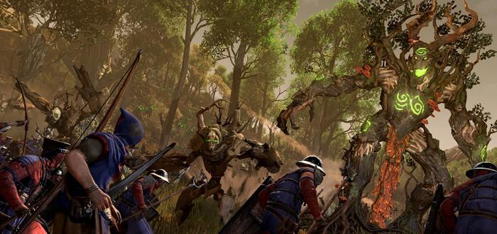 18 минут геймплея Realm of The Wood Elves DLC для Total War: Warhammer