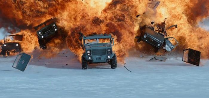 "The Fate of the Furious — название нового ""Форсажа"""