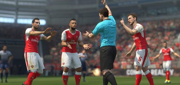 PES 2017 получила поддержку PS4 Pro