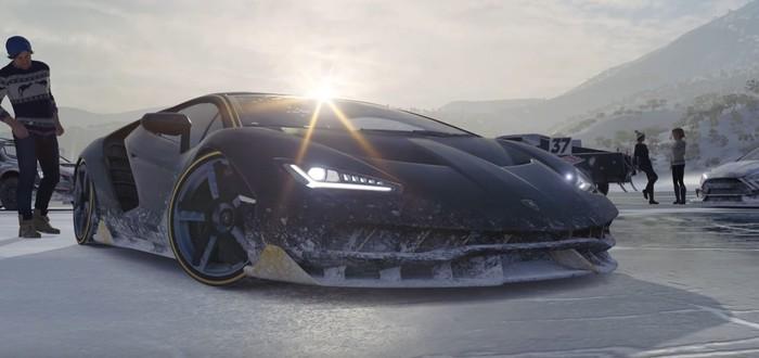 Зимнее дополнение Forza Horizon 3 уже доступно