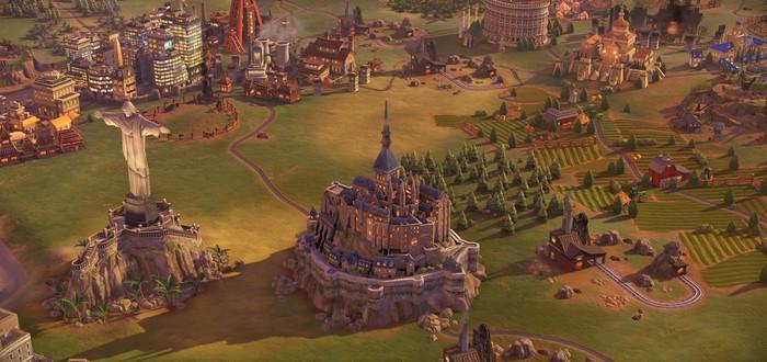 Все объекты Civilization VI на реальной карте мира