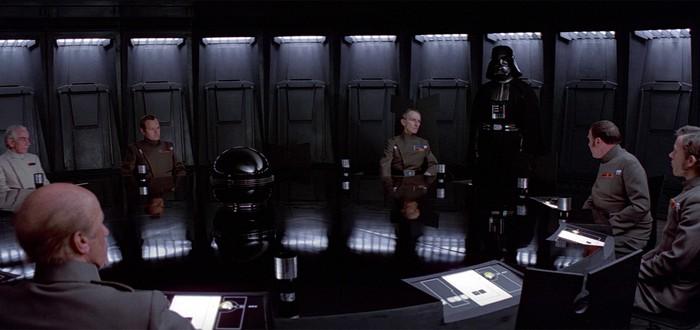 Посмотрите эту сцену из Star Wars IV перед походом на Rogue One