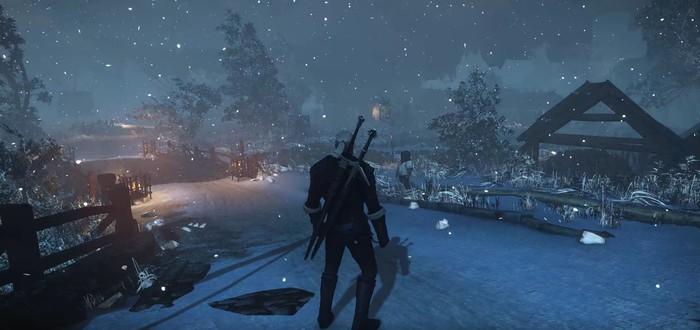 Создайте правильное настроение с зимним модом для The Witcher 3: Wild Hunt