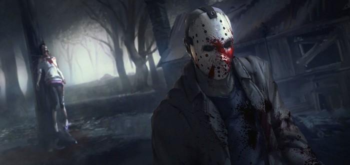 Целый матч мультиплеера Friday the 13th