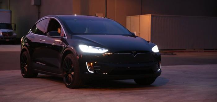 В программном апдейте Tesla Model X обнаружена пасхалка