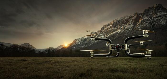 Норвежский дрон вытягивает 225 килограмм и летает 45 минут