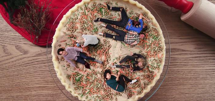 Кулинарное шоу с гигантами — готовим пирог из людей