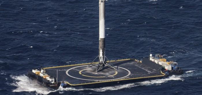 SpaceX запустила и посадила ракету Falcon 9 на баржу, спустя месяцы после катастрофы