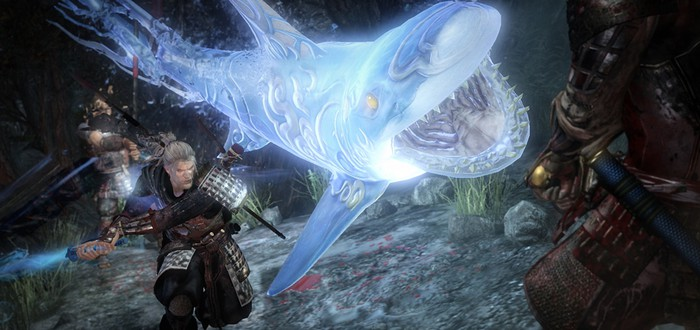 Различные виды оружия в новом геймплее NiOh