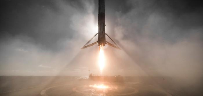 Потрясающие фотографии запуска новой ракеты SpaceX