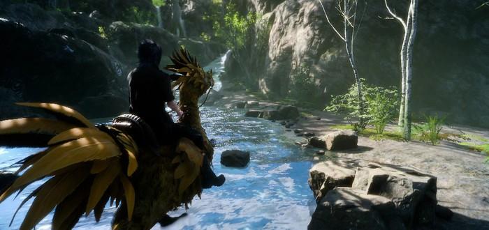 Трейлер бесплатного дополнения Chocobo Carnival для Final Fantasy XV