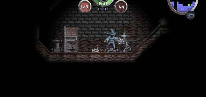 Mazgeon — адвенчура про подземелья и выживание в них