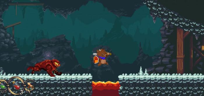 Aegis: Innocence — плюшевый мишка против страшных чудовищ