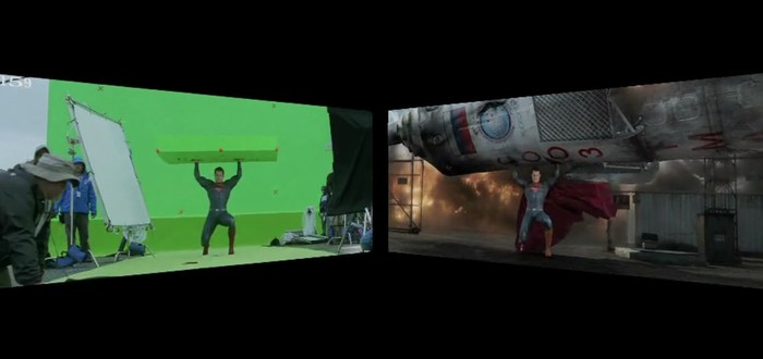 Batman v Superman до спецэффектов и после