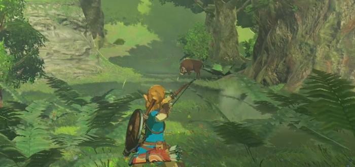 Рекламный ролик The Legend of Zelda: Breath of The Wild c битвами и катсценами
