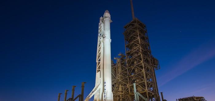 Прямой эфир с нового запуска SpaceX