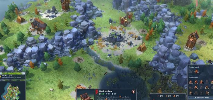 Стратегия Northgard вышла в Ранний Доступ Steam