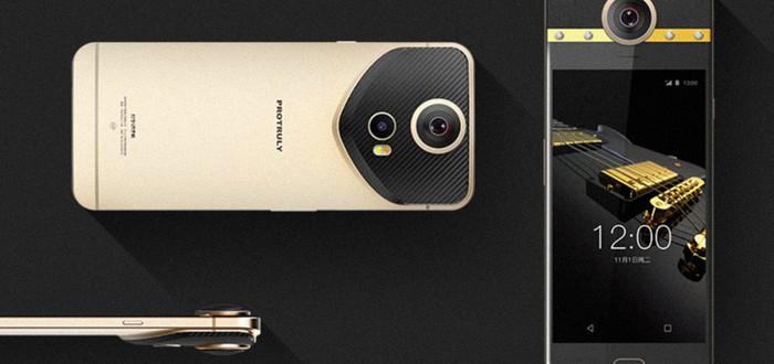 Этот китайский смартфон снимает в 360-градусном охвате