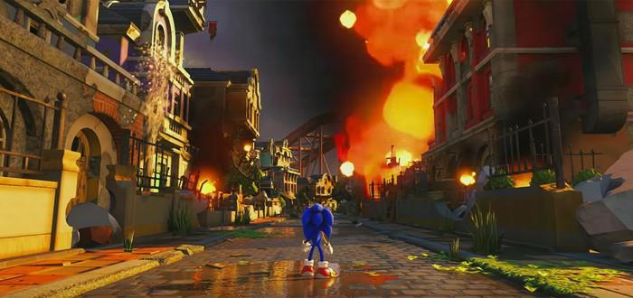 Первое геймплейное видео Sonic Forces