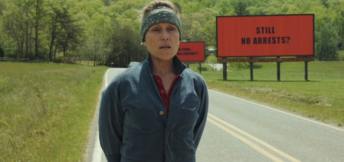 Первый трейлер драмы Three Billboards Outside Ebbing, Missouri