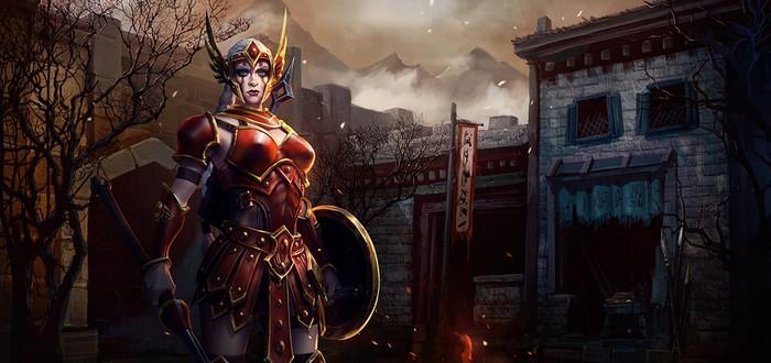 Кассия — новый герой Heroes of the Storm