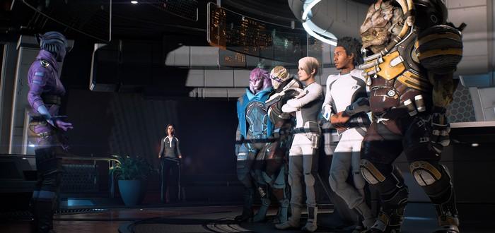 Сравнение анимации Mass Effect Andromeda: до патча 1.05 и после