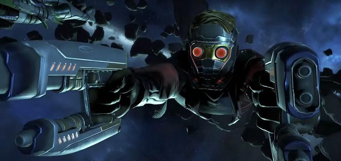 Релизный трейлер первого эпизода Guardians of the Galaxy от Telltale
