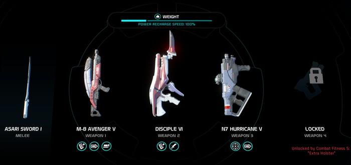 Гайд по оружию Mass Effect Andromeda