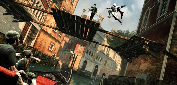 Assassin's Creed II на PC уродлив
