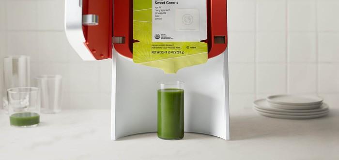 Самое тупое изобретение Кремниевой Долины — соковыжималка за $400, выжимающая сок из пакета