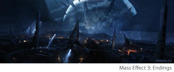 Гайд Mass Effect 3 - все возможные эндинги