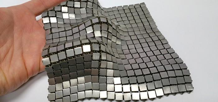 NASA создала космическую кольчугу, которую можно печатать на 3D-принтере