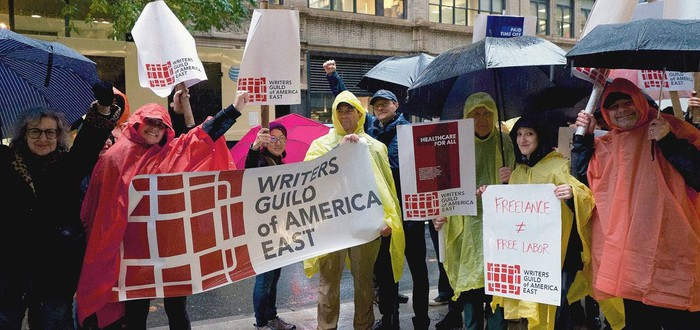 В Голливуде грядет новая забастовка сценаристов